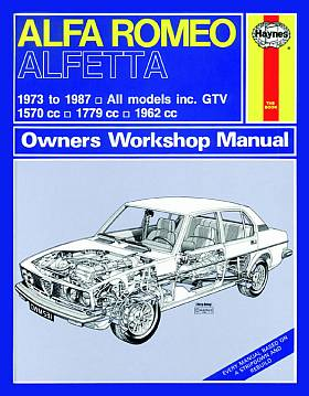 Alfa Romeo Alfetta (73 - 87) Owners Workshop Manual