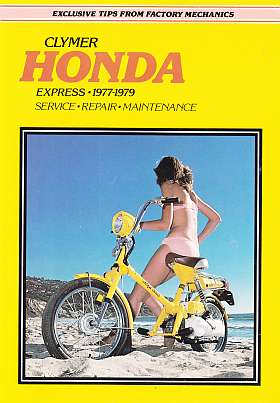 Honda Express 1977-1979 Clymer Motor cycle Repair Manual Service