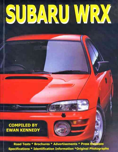 Subaru WRX Compiled By Ewan Kennedy