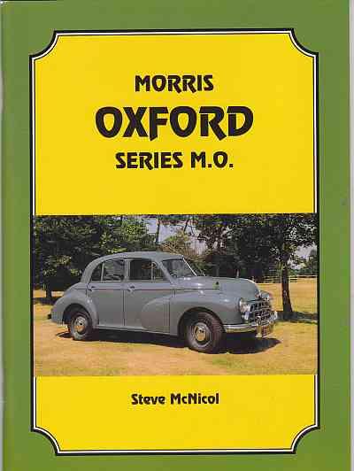 Morris Oxford Series MO by Steve McNicol