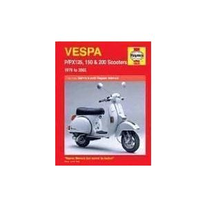 Vespa P/PX 125 150 and 200 Scooters 1978-2003 (Haynes Manuals)