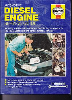 Diesel Engine Service Guide (Haynes Automotive Techbooks) by Chr