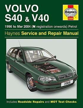 Volvo S40 and V40 Petrol: 1996-2004 (Haynes Service and Repair M