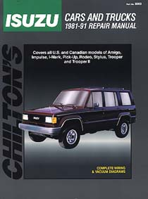 Isuzu Cars And Trucks 1981-91 Total Car Care Series