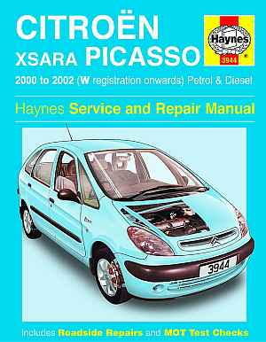 Citroen Xsara Picasso 2000 TO 2002 (Haynes Service and Repair Ma