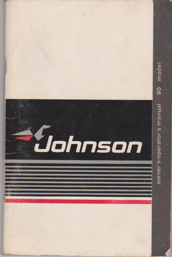 Johnson Owners Operators Manual and Service Log 396009