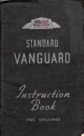 Standard Vanguard all models instruction book 1949