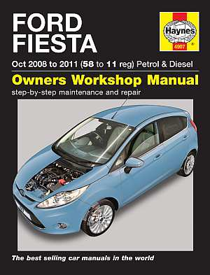 Ford Fiesta Petrol and Diesel Service and Repair Manual: 2008 t