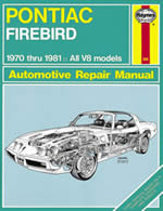 Pontiac Firebird 1970-81 Owner's Workshop Manual (USA service an