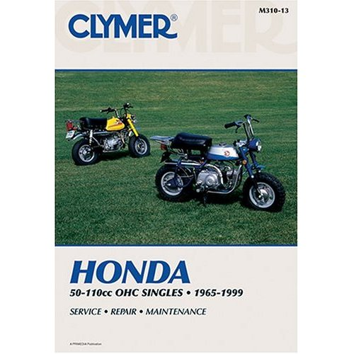 Honda 50-110cc OHC Singles 1965-1999 Repair Manual M310-