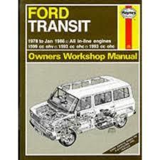 Ford Transit Petrol   Owners Workshop Manual Ha