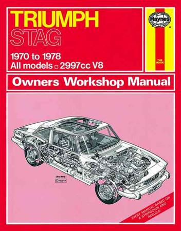 Triumph Stag 1970 - 1978 Haynes Owners Service and Repair Manual