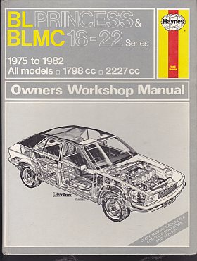 B. L. Princess and B. L. M. C. 18-22 Series Owner's Workshop Man