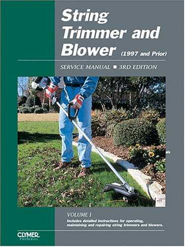 String Trimmer and Blower Service Manual