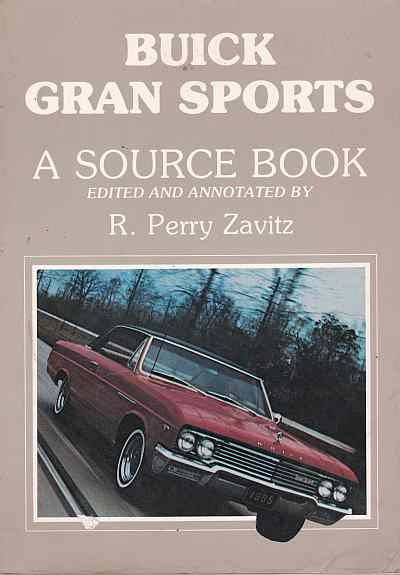 Buick Grand Sports A Source Book
