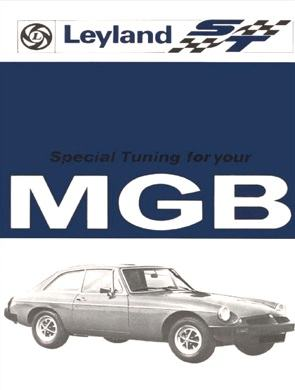 MG MGB Tourer and GT Tuning Handbook {B-MG82HH}