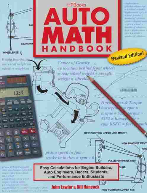 Auto Math Handbook (Revised) {HP-1554} 9781557885548