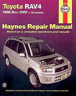 Toyota RAV4 (96 - 2002 ) Haynes Repair Manual 9781563924521