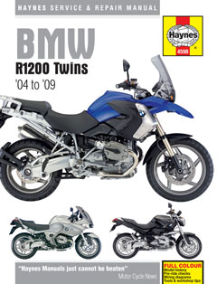 BMW R1200 Twins 2004 - 2009 Repair Manual HM4598 - Click Image to Close