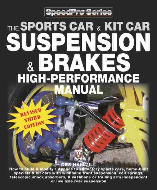 How to Build & Modify – Sportscar & Kitcar Suspension & Brakes: