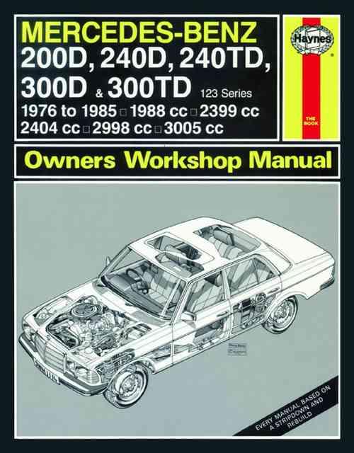Mercedes Benz 200D, 240D, 240TD, 300D and 300TD Oct 1976-85 1114