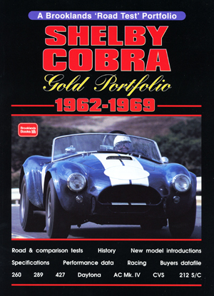 Shelby Cobra Gold Portfolio 1962-1969