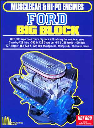 Musclecar and Hi-Po Engines Ford Big Block
