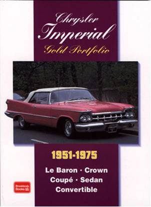 Chrysler Imperial Gold Portfolio 51-75 {A-CRIMGP}