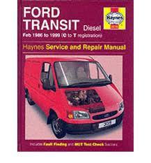 Ford Transit Diesel (1986-99) Service and Repair Manual 3019