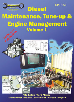 Diesel Maintenance Tune-Up and Engine Management Volume 1 1982 -