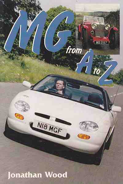 MG From A to Z MG From A to Z 9781899870295