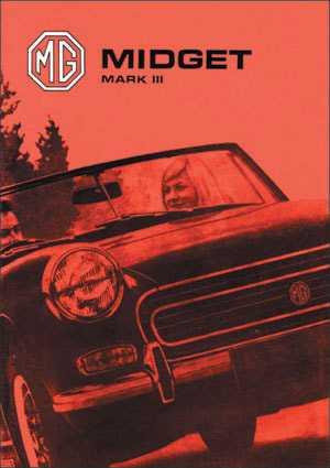 MG Midget Mk III Drivers Handbook AKD 7596 (2nd Edition)