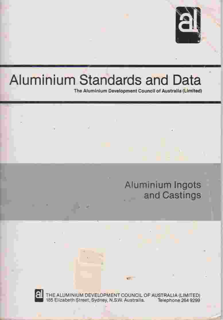 Aluminium Ingots And Castings by Aluminium Development Council