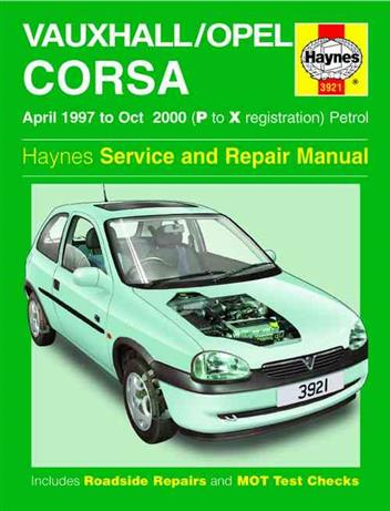 Vauxhall _ Opel Corsa (Holden Barina) 1997 - 2000