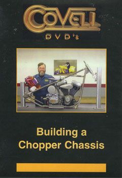 Building A Chopper Chassiss DVD, NTSC by Ron Covell