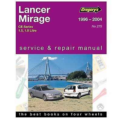 Lancer - Mirage 1996 To 2004 Gregorys Owners Service & Repair
