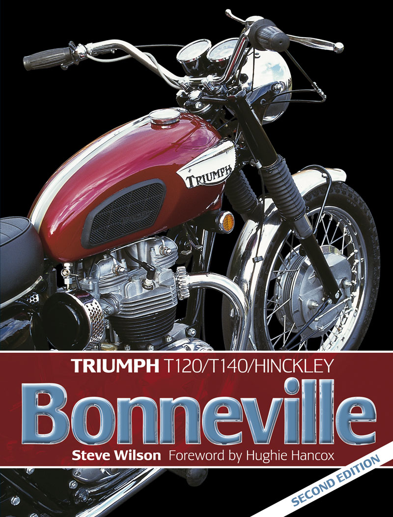 Triumph Bonneville (2nd Edition) by Steve Wilson H4549 - Click Image to Close