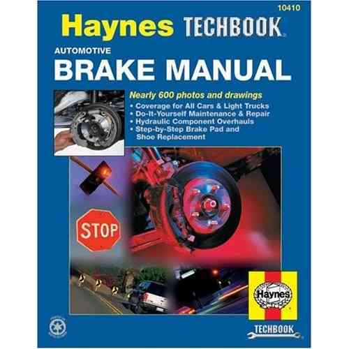 Automotive Brake Manual Haynes TechBook HA10410