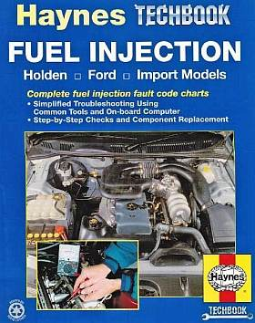 Fuel Injection Holden Ford, Import Models Techbook HA10720