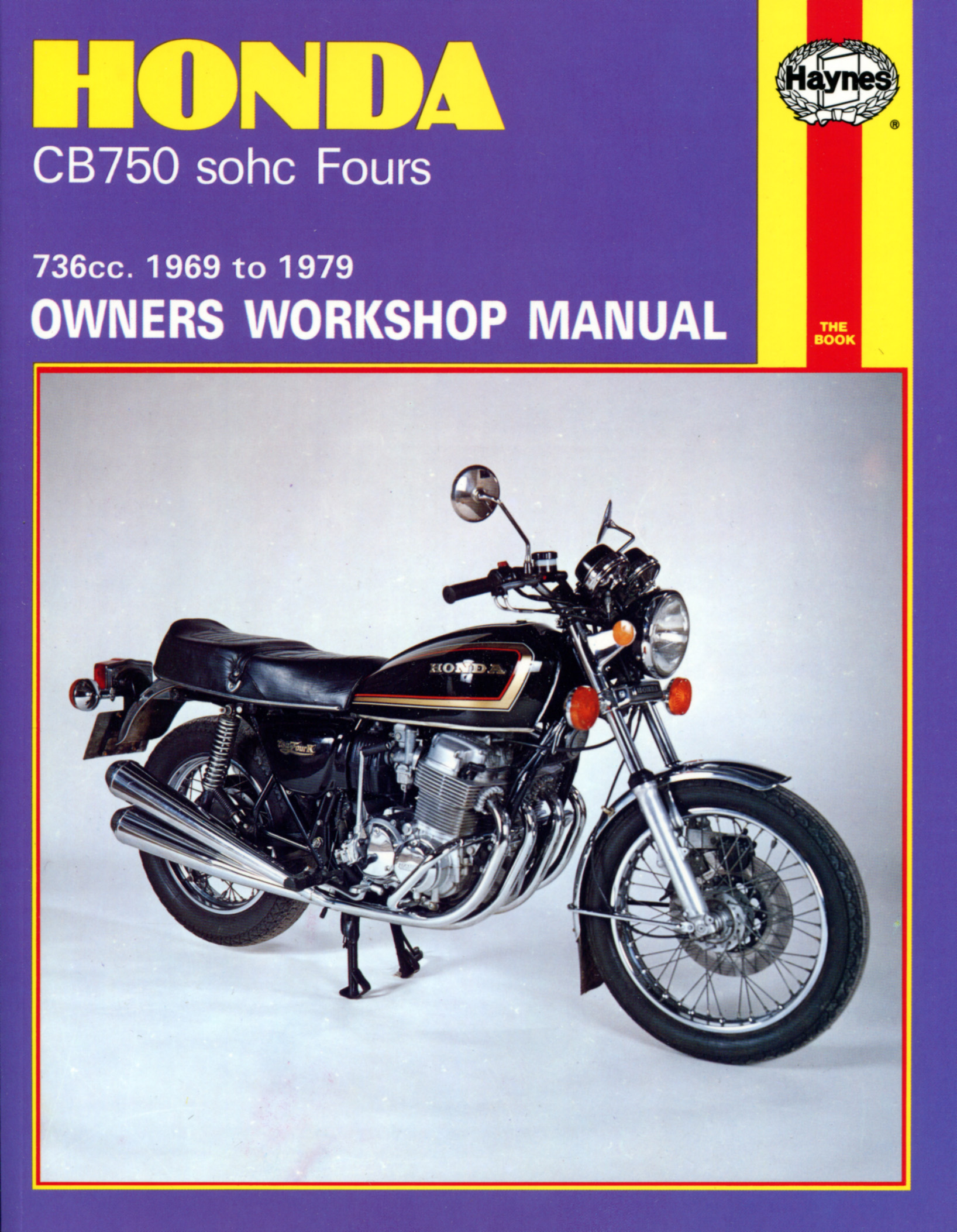 Honda CB750 SOHC Fours 1969 - 1979 Owners Workshop Manual 131