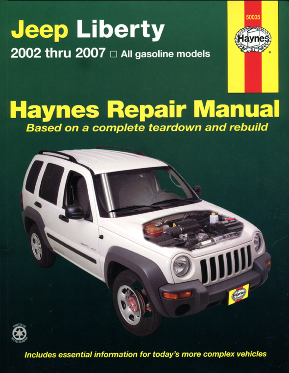Jeep Liberty 2002 - 2004 (USA) All Models Haynes Repair Manual