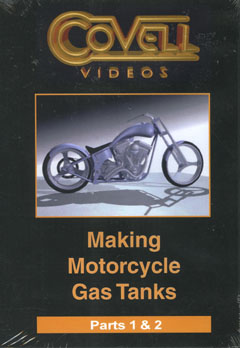 Making Motorcycle Gas Tanks DVD (NTSC Format) by Ron Covell