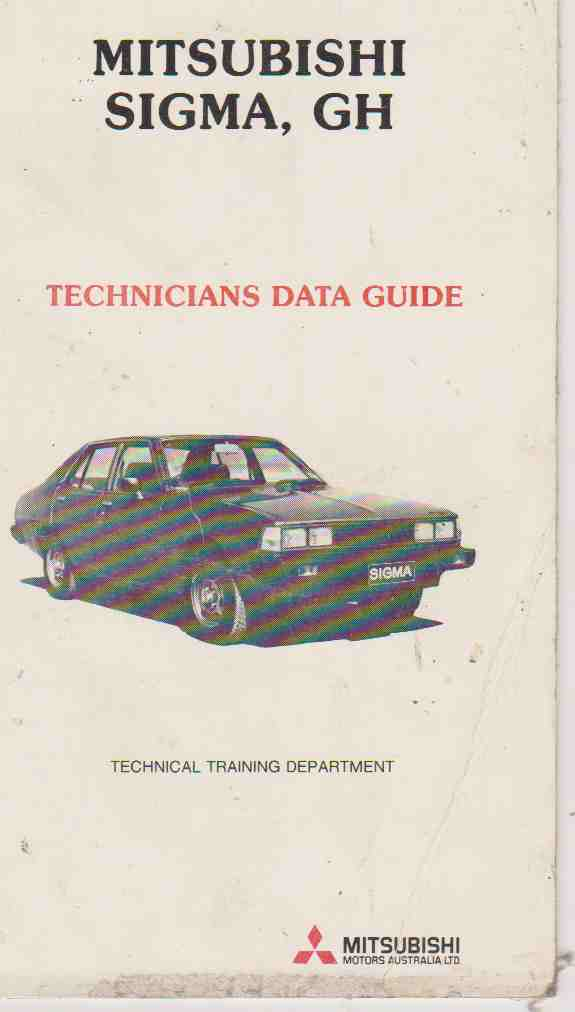 Mitsubishi GH Sigma Factory Technicians Data Guide