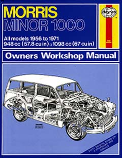 morris minor 1000 1956 1971 owners workshop manual a haynes rh bevenyoung com au Haynes Manual Pictures Back Haynes Manual for Quads