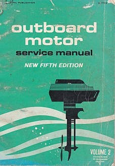 Out Board Motor Service Manual Motors Rated Above 30hp