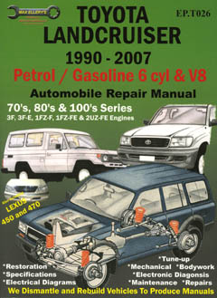 Toyota Land Cruiser Petrol 1990-2007 Repair Manual EP-TO26