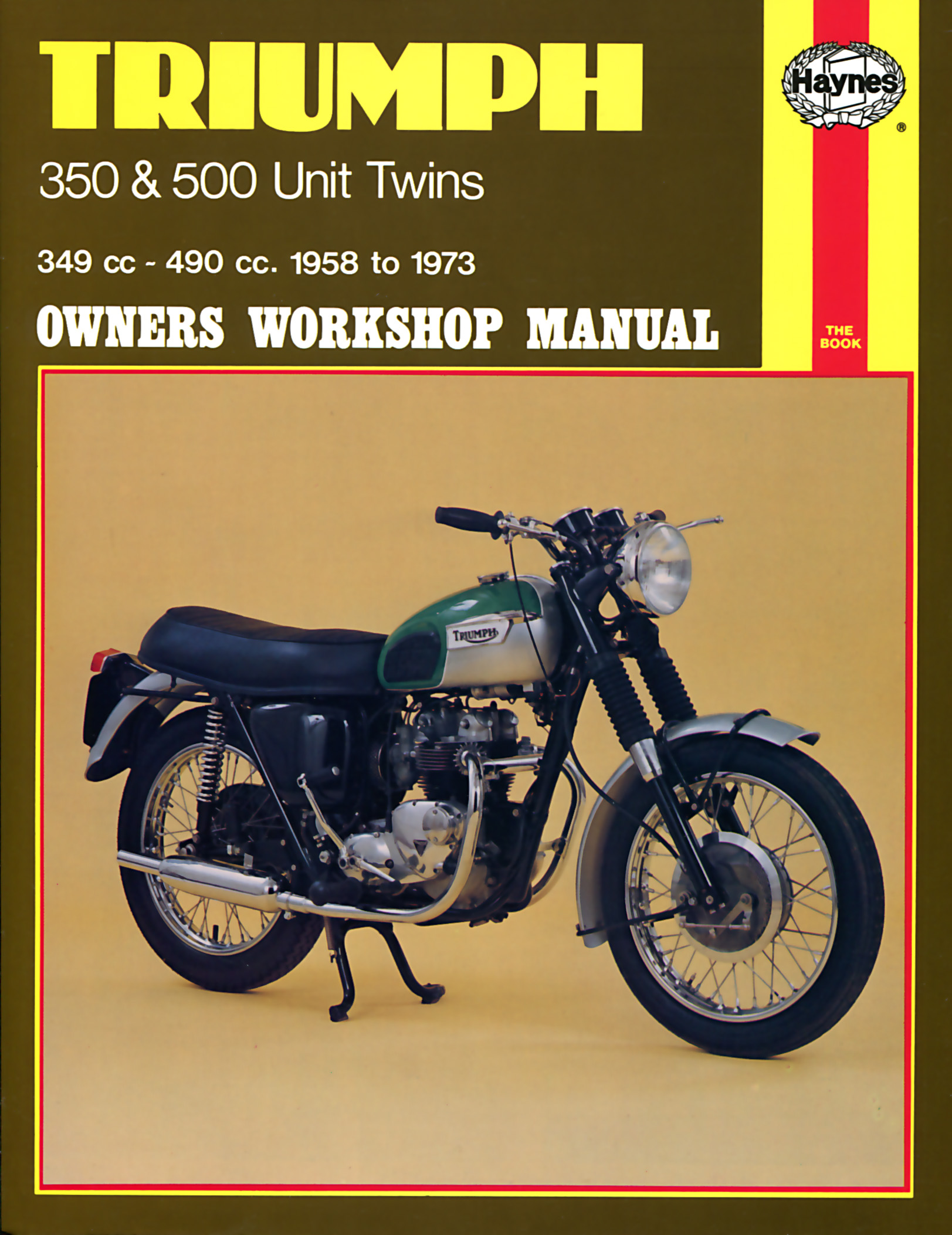 Triumph 350 and 500 Unit Twins 1958 - 1973 Owners Workshop Manua
