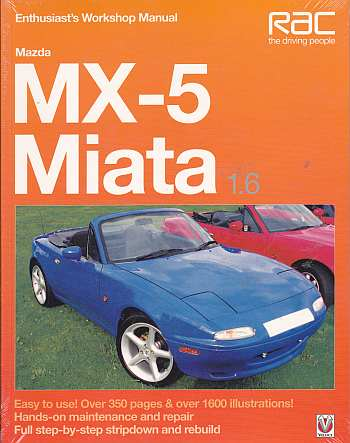Mazda MX5 Miata 1.6 Enthusiasts Workshop Manual