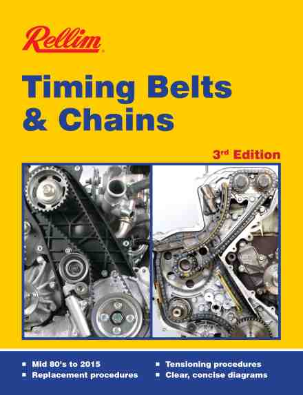 Rellim Timing Belts and Chains Mid 80s to 2015 RTB3 978186792372