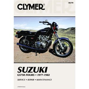Suzuki GS750 Fours 1977-1982 Repair Manual M370